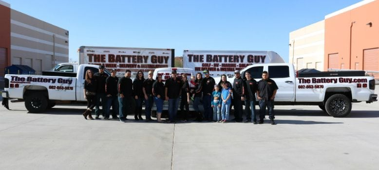 The Battery Guy Team